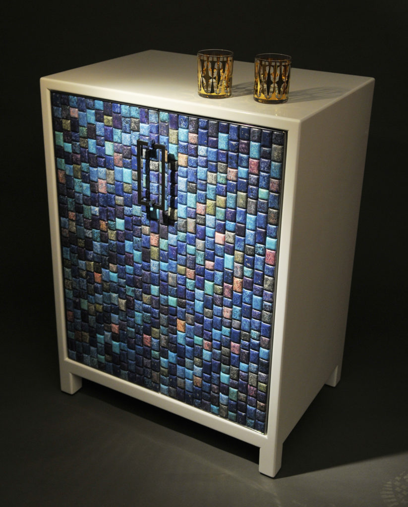 Saarinen-Mosaic-Tile-Cabinet-Full-Bar